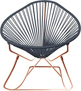 Innit Designs 03-04-06 Acapulco Rocker, Grey On Copper