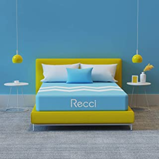 RECCI 10-Inch Queen Mattress, Bed in a Box, Breathable & Cool, No Quick Sand Feel, Just Right Comfort & Support, Innovativ...