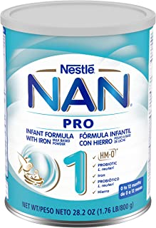 Gerber Nestle Nan 1 Pro Infant Formula Powder, Original 28.2 Ounce