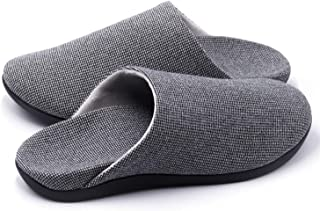 V.Step Slippers with Arch Support, Comfortable Orthopedic Sandals for Plantar Fasciitis Flat Foot House Outdoor, Grey