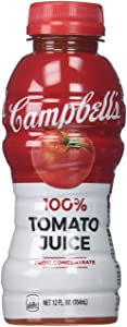 Campbell's Tomato Juice, 12 oz. Bottle (Pack of 12)
