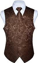 Best brown paisley vest Reviews
