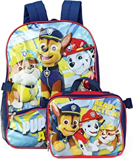 Nickelodeon Paw Patrol Backpack with Lunch, Red (red) - PK29072-SC-RE00