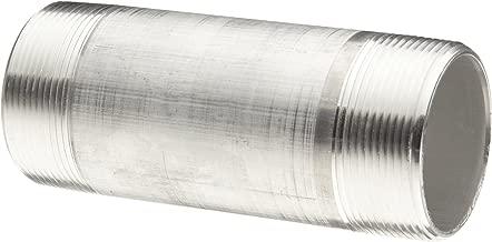 Aluminum Pipe Fitting, Nipple, Schedule 40, 3/8
