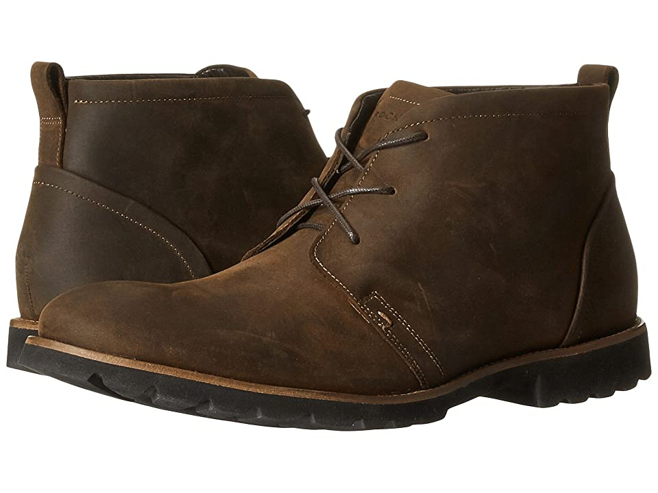 Rockport Charson (Brown Oiled Leather) Men