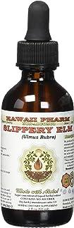 Slippery Elm Alcohol-Free Liquid Extract, Organic Slippery Elm (Ulmus Rubra) Dried Bark Glycerite 2 oz