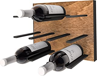 STACT Cork-out Wine Rack - Black and Tan
