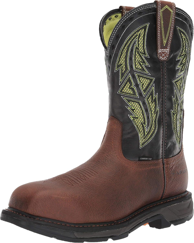 ARIAT Men's Workhog Xt Venttek Spear Carbon Toe Work Boot Industrial