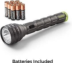 CORE CREE LED Flashlight, Multiple Modes, Aluminum, Batteries Included