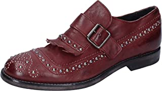 MOMA Oxfords Womens Leather Purple