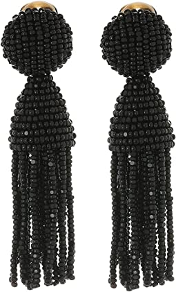 Classic Short Tassel C Earrings