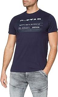 G-STAR RAW Originals Stripe Logo Camiseta para Hombre