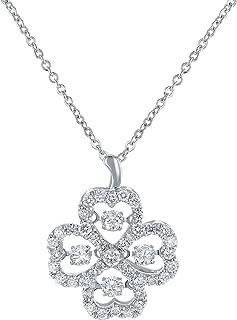 Best clover diamond necklace Reviews