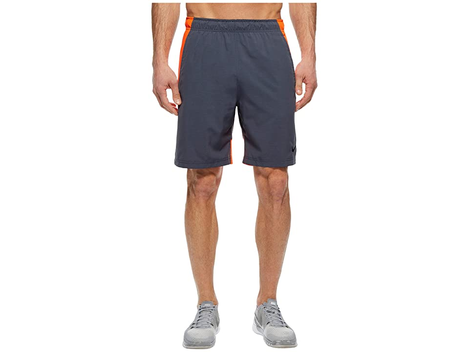 Nike Flex Woven Training Short (Thunder Blue/Heather/Black) Men