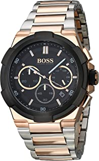 Hugo Boss Men's 1513358 Year-Round Analog Quartz Black Watch