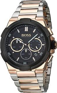 Hugo Boss Men's 1513358 Year-Round Analog Quartz Black Watch