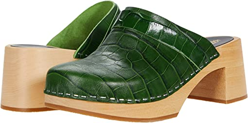 Dark Green Croc