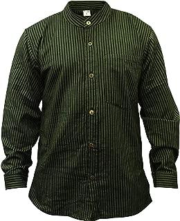 Best green grandad collar shirt Reviews