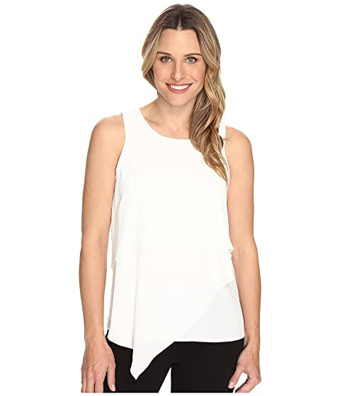 Asymmetrical Sleeveless Blouse Layered Camuto Vince 8g5Eww