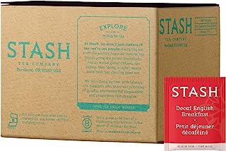 Stash Tea Decaf English Breakfast Black Tea 100 Tea Bags in Foil (Packaging May Vary) Individual Decaffeinated Black Tea B...