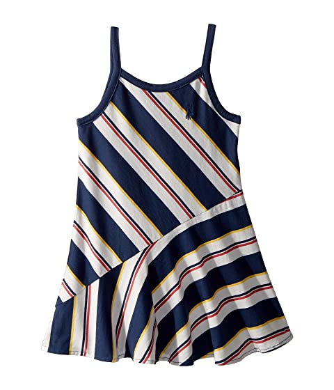 94281a82dd86 Polo Ralph Lauren Kids Striped Cotton Jersey Maxi (Toddler) at 6pm