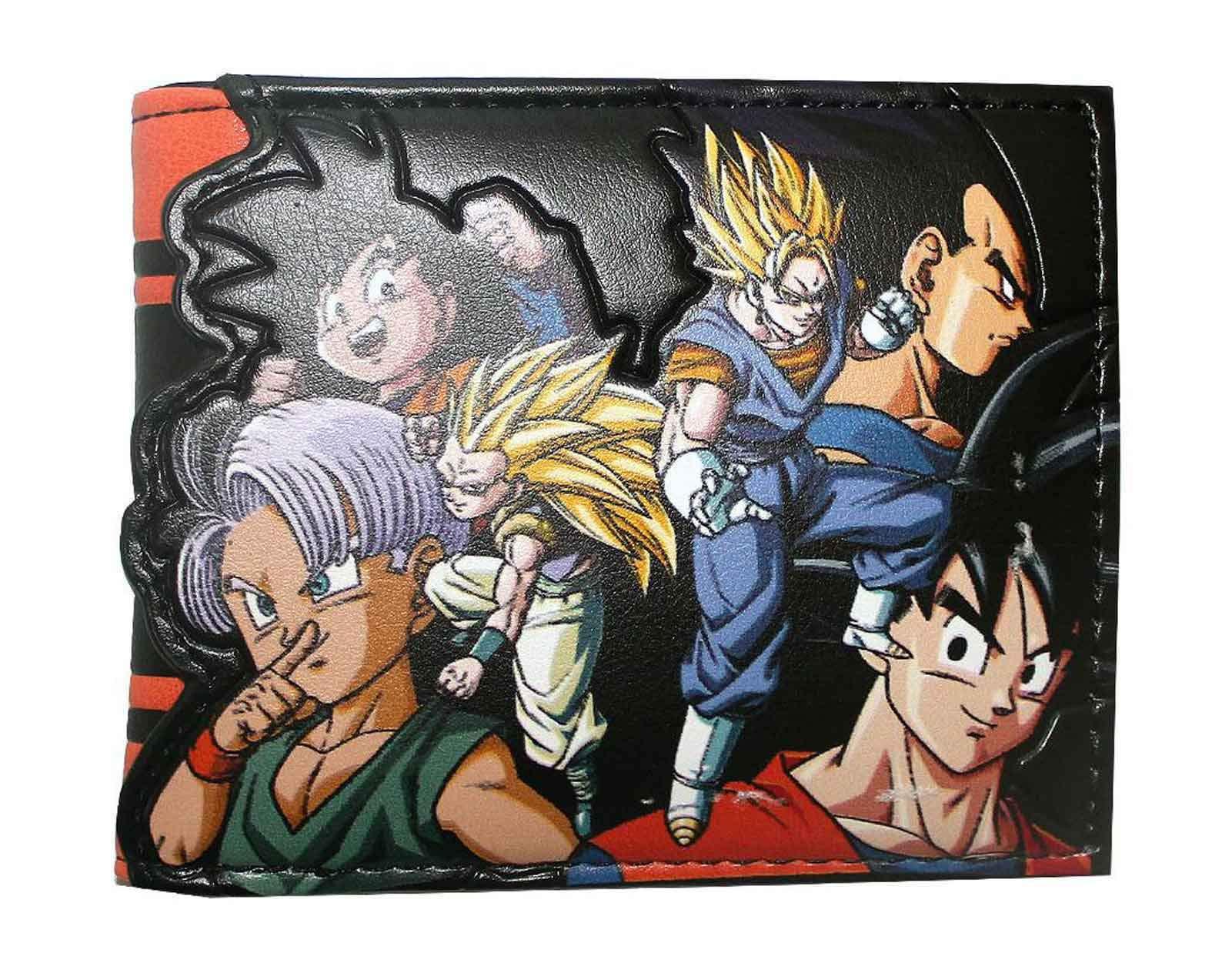 Dragon Ball Z Character Bi-Fold Wallet
