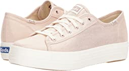 Keds Triple Kick Metallic Linen