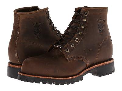 Chippewa Apache Steel Toe Lace Up (Chocolate) Men