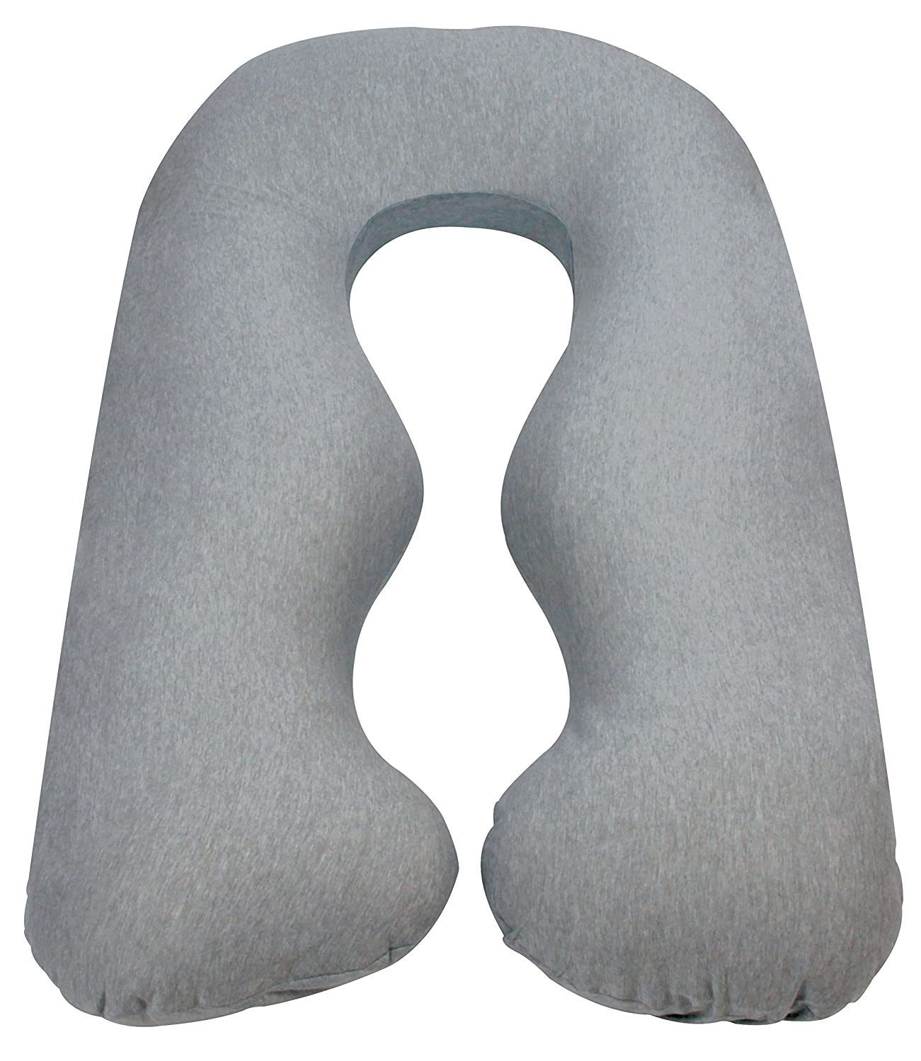 Leachco Back N Belly Chic Body Pillow Replacement Cover (Gray)