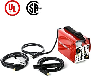 ARC STICK Welder 110V KickingHorse A100(UL). 100A IGBT Inverter Designed to Run-off 15/20A US Home Circuit. Ideal for Beginners and Home Use, UL Approved for Safe Welding at Residential Household