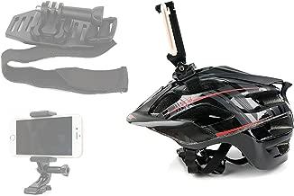 Adjustable Bicycle Helmet Phone Mount - by DURAGADGET