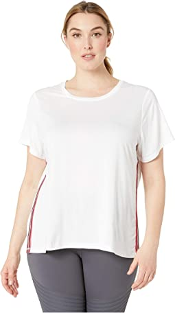 Plus Size Track Star Tee