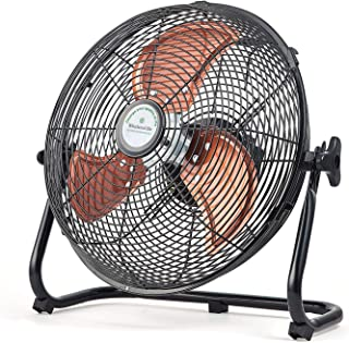Whirlwind Life Charging Floor Fan, Indoor and Outdoor Dual-use Mobile Fan, Wireless, Maximum Wind Speed up to 7M / s, Running time up to 6-24 Hours, and with USB Output Function …