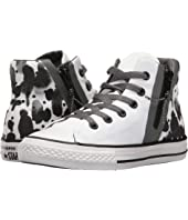 Converse Kids - Chuck Taylor All Star Sport Zip Hi (Little Kid/Big Kid)