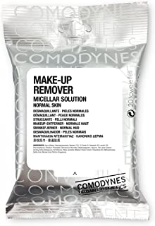 Comodynes Make Up Remover Towels for Face and Eyes, Original (All Skin Types)