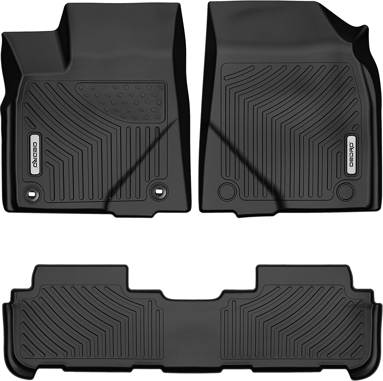 OEDRO Floor Mats Compatible for Toyota Uni 2014-2019 Highlander Complete Free Outlet ☆ Free Shipping Shipping