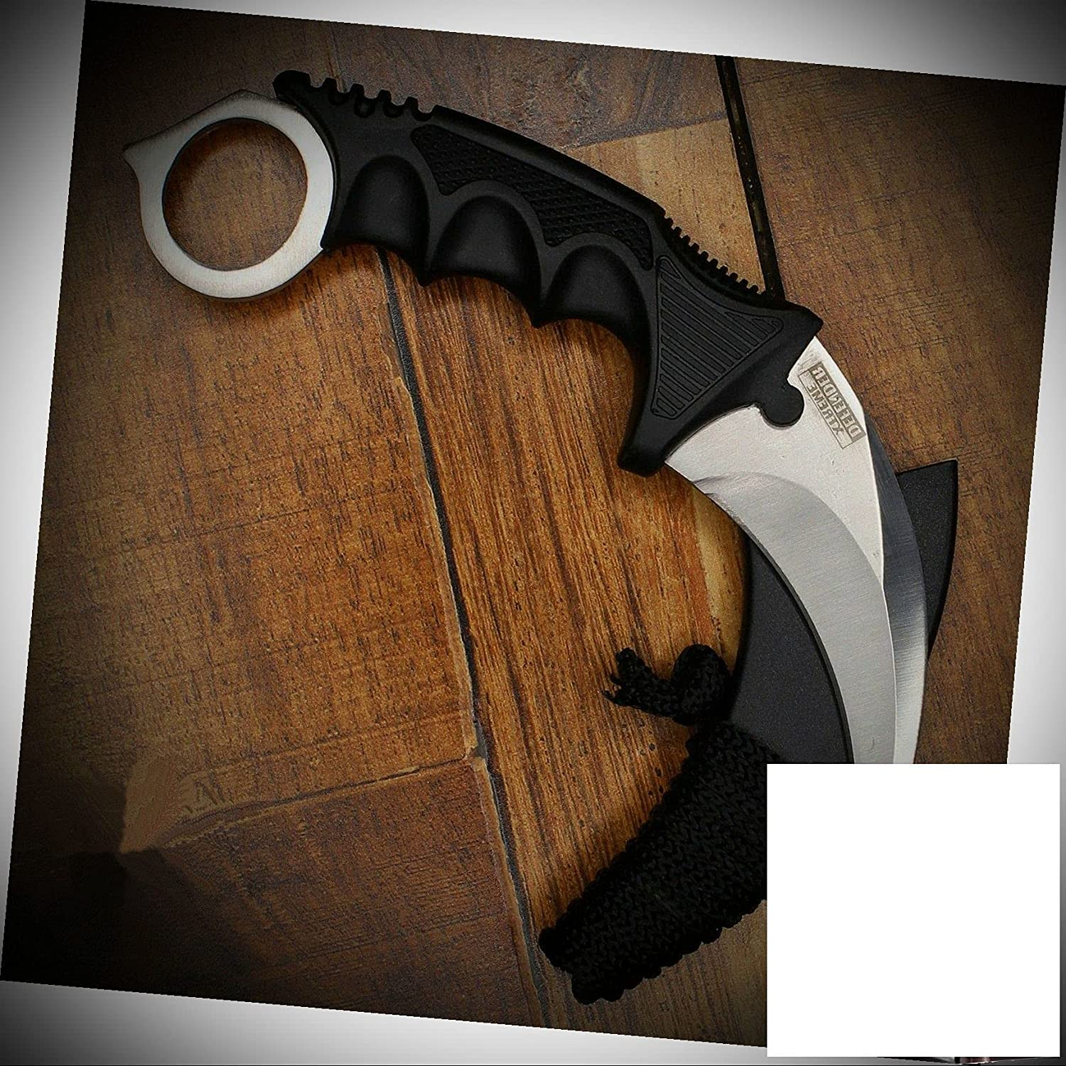 Hunting Karambit Stainless High quality new National products Steel Blade Combat Survival Fix Knife