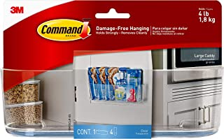 Command Clear Smart Phone Station met Clear Strips (HOM-17) Large Helder
