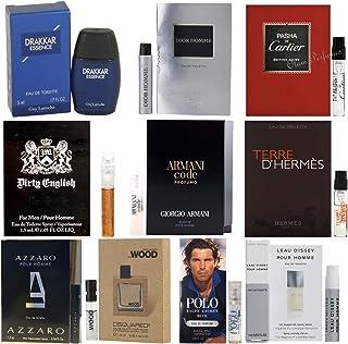 Men`s Pilestone`s Choice: Cologne Collection Men`s Designer Fragrance Sample Pack: 10 Different Cologne