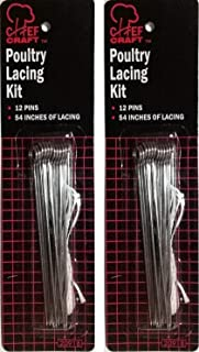 Chef Craft Poultry Lacing Kit (2 Packs)