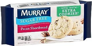 Murray Sugar Free Cookies, Pecan Shortbread, 8.8 oz Tray(Pack of 12)