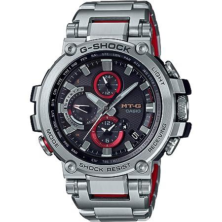[カシオ] 腕時計 ジーショック MT-G Bluetooth 搭載 電波ソーラー MTG-B1000D-1AJF メンズ シルバー