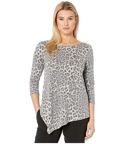 Karen Kane Crisscross-Back Top (Leopard) Women