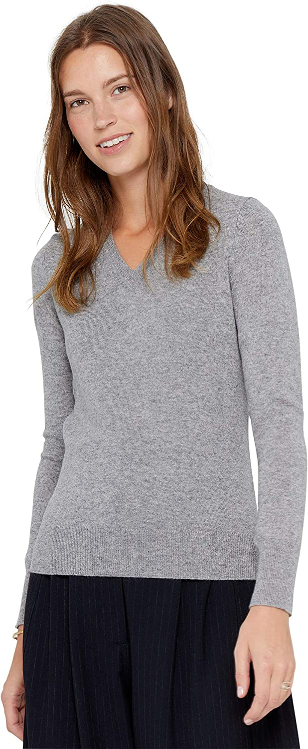 Tulsa Time sale Mall State Cashmere Essential V-Neck Sweater Pure Long 100%