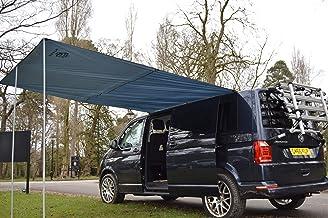 Toldo de Wild Earth para furgoneta, caravana, autocaravana o caravana, 240 cm x 300 cm, color gris oscuro