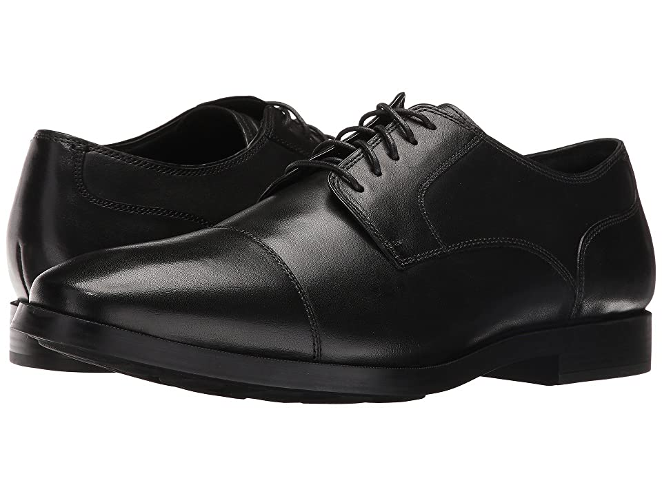 Cole Haan Jay Grand Cap Oxford (Black) Men