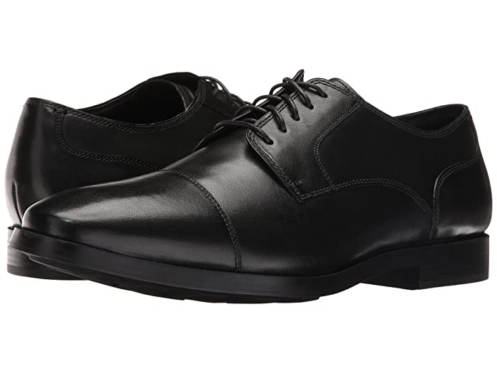 Cole Haan  Jay Grand Cap Oxford (Black) Mens Lace up casual Shoes