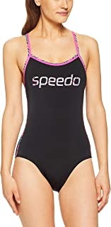 Speedo Women's Sierra ONE Piece, Black/Ziggy/Happyness