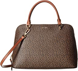 Monogram Dome Satchel