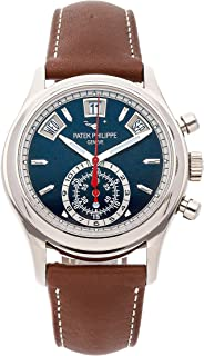 Patek Philippe Complications Mechanical (Automatic) Blue Dial Mens Watch 5960/01G-001 (Certified Pre-Owned)